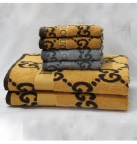 Vintage Big Size Jacquard Thick Towel Sets Home/Restaurant 33x59 + 14x30 inch