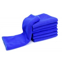 "Cheap Microfiber Car Cleaning Towels Drying Cloths 12""x28"" Thin"