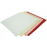 Solid 100% Cotton RESTAURANT Napkins 20x20 Inch
