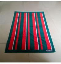 Pure Cotton Cut Pile Big Size Striped Bath/Beach Towel