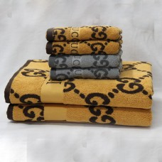 Vintage Big Size Jacquard Thick Towel Sets Home/Restaurant 33x59 + 14x30 inch
