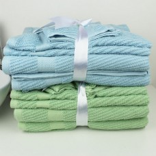 Supermarket New Cotton Towel Sets Three Pieces Suit (1 Bath Towel+1 Hand Towel+1 Washcloth)