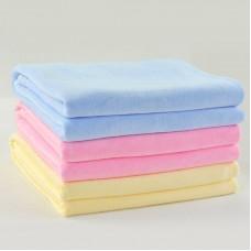Solid Velvet Kids  Bath Towel Sport/Salon Towels 39x47 inch
