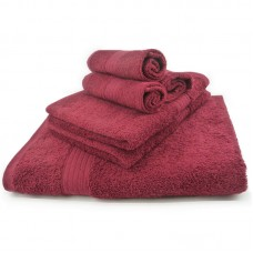 Premium Egyptian Cotton Bath Towel Thick 28x55 inch WIne Red