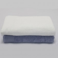 Solid Premium Thick Sports Cotton Bath Towel 28x55 inch 32/2S