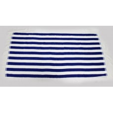 100% Cotton Plain Weave Striped Thick Beach Towel 30x59 inch