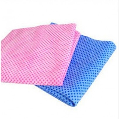 "Portable Chilly Cooling Towel Neck for Sports & Outdoor Blue/Pink 31""x13"""