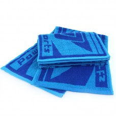 "Hot Thick Pakistan Cotton Blue Sports/Yoga/Cycling Towel 32""x10"""