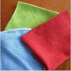 Waffle Microfiber Towel Fabric