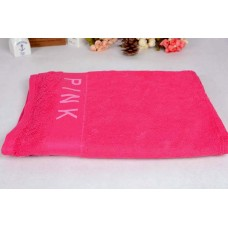 Cotton Beach Towel Pink 36x65 inch