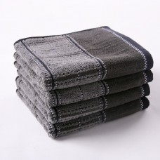Bamboo Cotton Hand Towel Washcloth Dampproof for Men