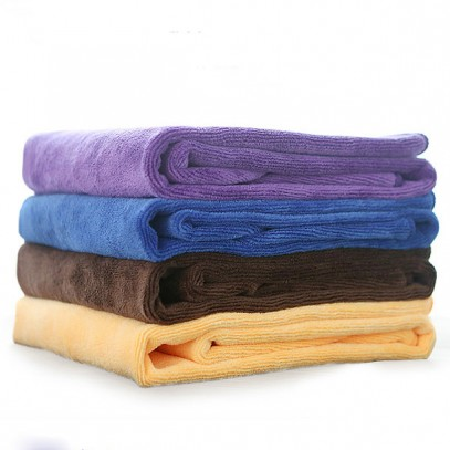 Soft Thick Microfiber Towel Hair Drying Salon Towel