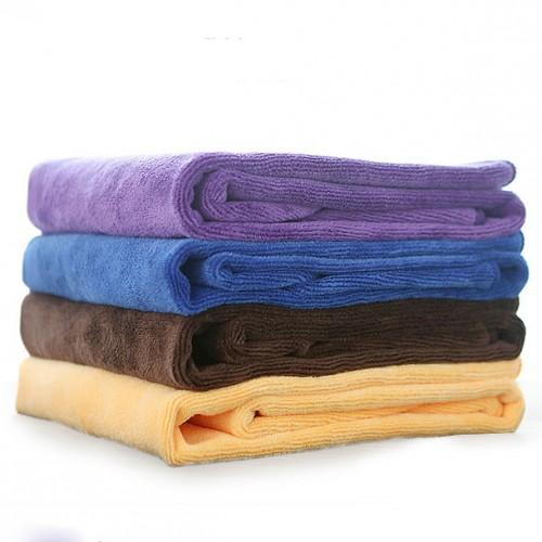 Zip Soft Microfiber Towel: Soft Thick Microfiber Towel Hair Drying Salon Towel