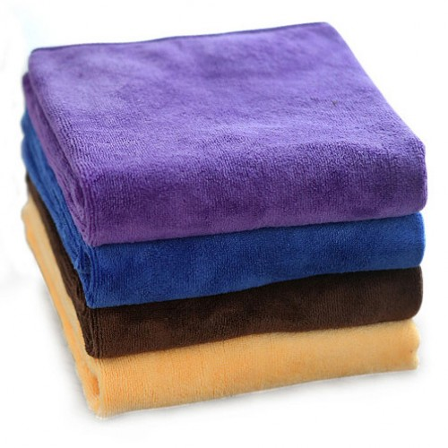 Zip Soft Microfiber Towel: Soft Thick Microfiber Towel Hair Drying Salon Towel