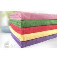 "Cheap Wholesale Absorption Microfiber Drying Salon Bath Towels 28"" x 59"""