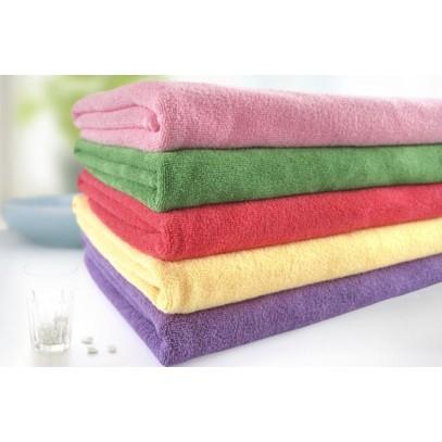 "Cheap Wholesale Absorption Microfiber Drying Salon Bath Towels 28"" x 59"""
